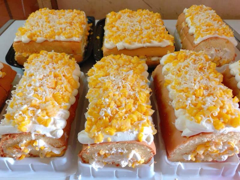 Nguyên liệu chế biến bánh kem bắp của Tiệm Yêu Bánh được tuyển chọn kỹ lưỡng, tuyệt đối không sử dụng chất bảo quản