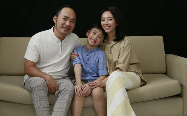 Gia đình nhỏ của Tiến Luật - Thu Trang
