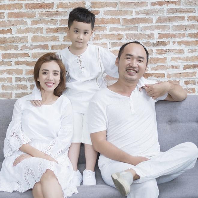Con trai Andy của vợ chồng làng hài Tiến Luật - Thu Trang