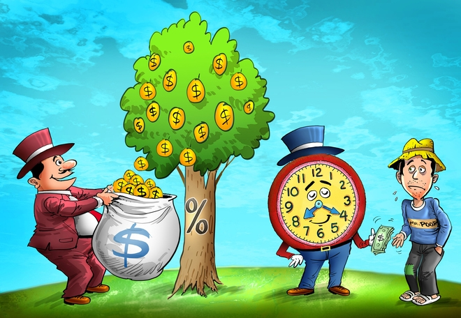 Có tiền sẽ khiến việc giải quyết mọi vấn đề dễ dàng hơn