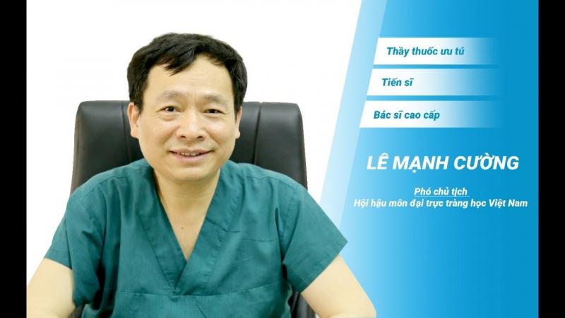 Tiến sĩ, Bác sĩ Lê Mạnh Cường