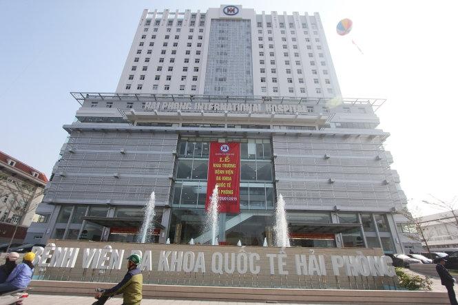 Bệnh viện Đa khoa Quốc tế Hải Phòng nơi bác sĩ làm cố vấn