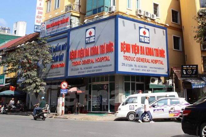 Bệnh viện Đa Khoa Trí Đức nơi bác sĩ Thu Hương công tác
