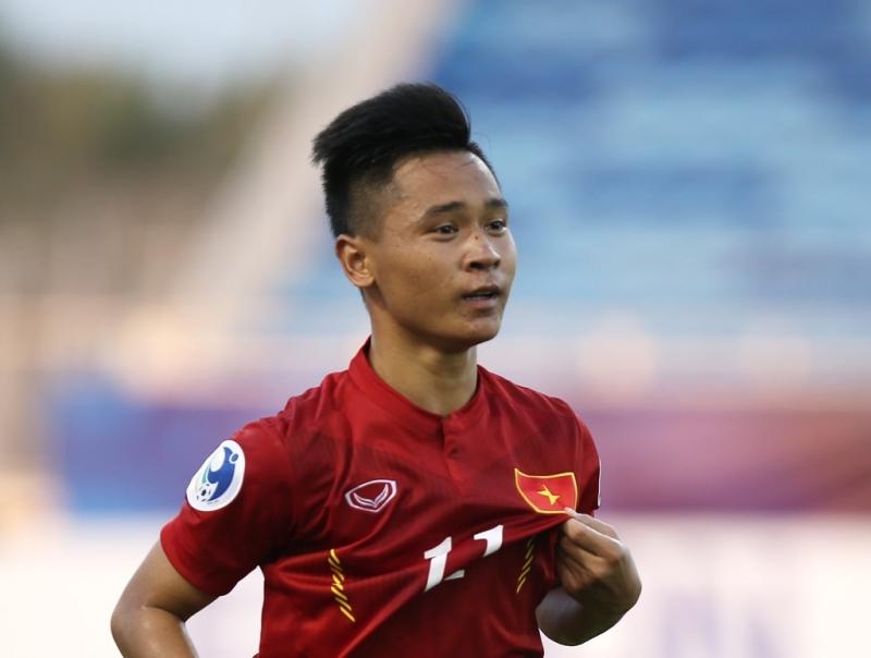 Minh Dĩ ghi bàn trong trận gặp UAE vừa qua