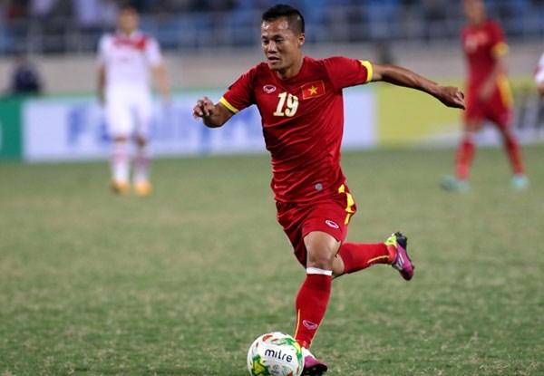 Tiền vệ Phạm Thành Lương, số áo 11