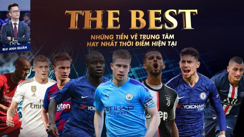 Top 10 tiền vệ trung tâm hay nhất thế giới hiện tại