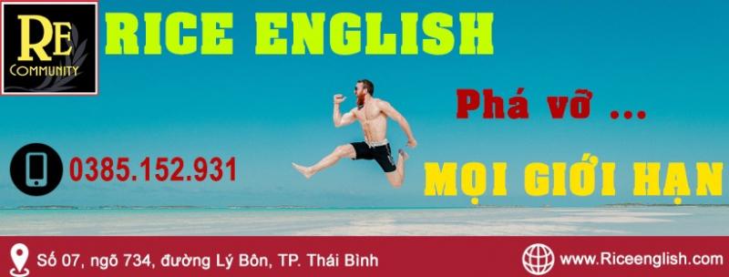 Tiếng Anh Thái Bình - RiceEnglish