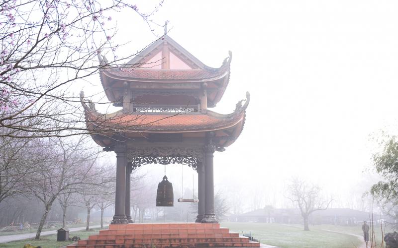 Tiếng chuông chùa - Phạm Quang Thu (Ảnh minh họa -Nguồn Internet)