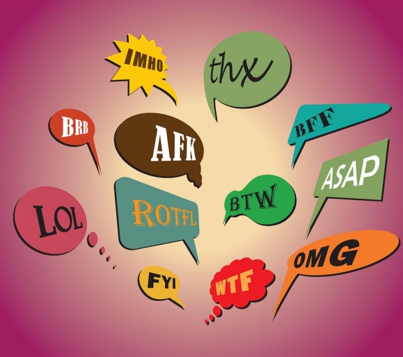 Tiếng lóng được sử dụng rất nhiều trong giới trẻ hiện nay