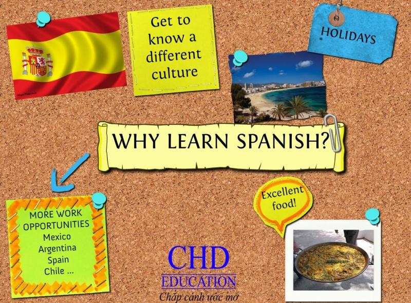 Những lý do bạn nên học tiếng Tây Ban Nha