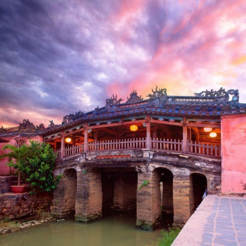 Chùa Cầu – biểu tượng chùa miếu ở Hội An.
