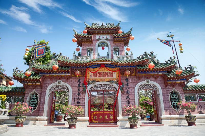 Hội quán Phúc Kiến – một công trình kiến trúc mang nét Trung Hoa cổ xưa tại Hội An.