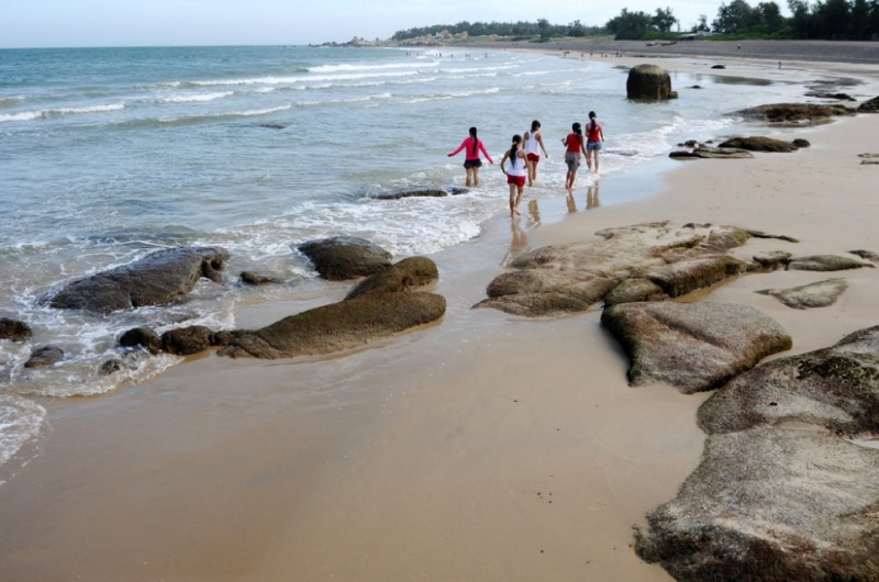 Find a deserted beach, do whatever you like
