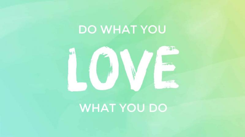 Tìm kiếm bộ môn mà bạn yêu thích và thực hiện nó bằng niềm đam mê