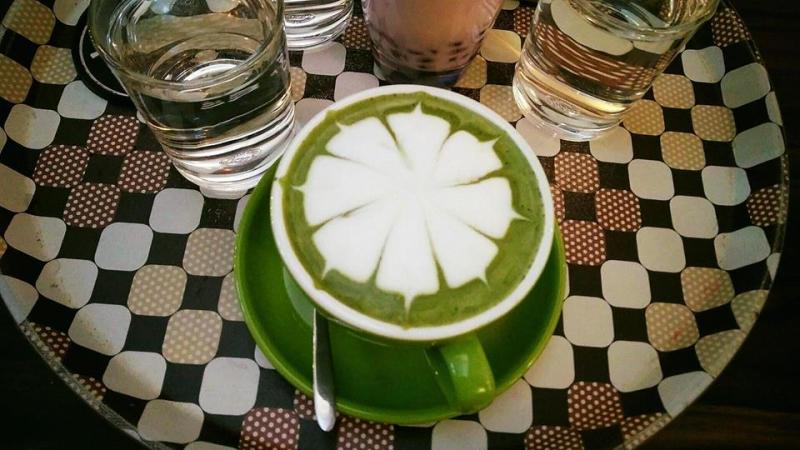 Menu đồ uống tại Time Cafe