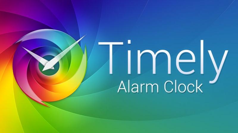 Timely là ứng dụng đồng hồ báo thức dành cho các thiết bị Android