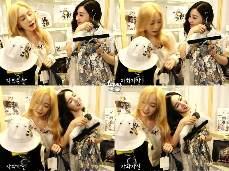 Tình bạn thân thiết của Tae Yeon và Tiffany