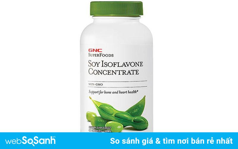 Soy GNC 50mg Isoflavone Concentrate