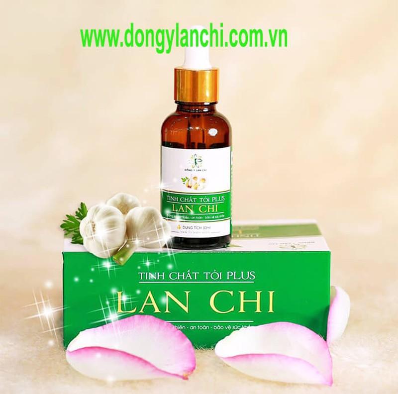 Tinh chất tỏi Lan Chi Plus