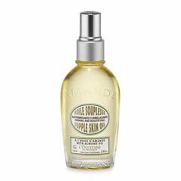Tinh dầu chống rạn da organic L'Occiatane Almond Supple Skin Oil