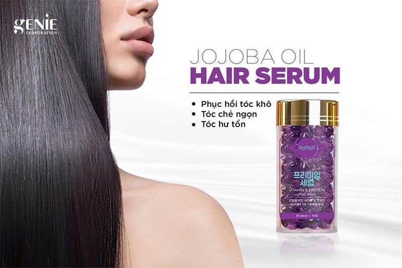 Tinh Dầu Dưỡng Tóc Genie Vitamin Protein For Hair Hàn Quốc