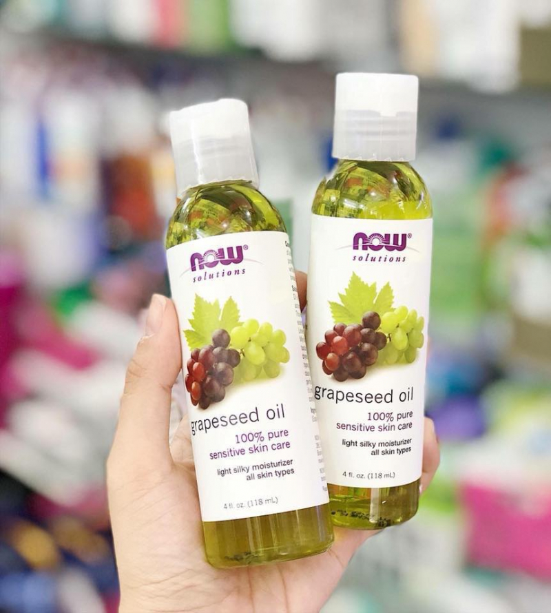 Tinh Dầu Hạt Nho Now Solution Grapeseed Oil