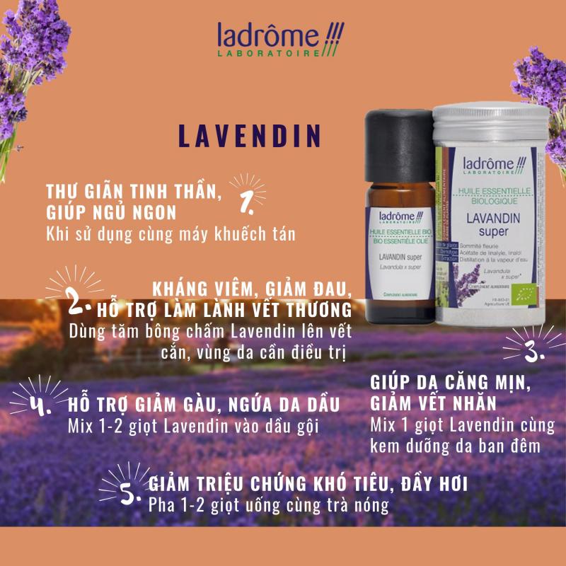 Tinh dầu hữu cơ Ladrome