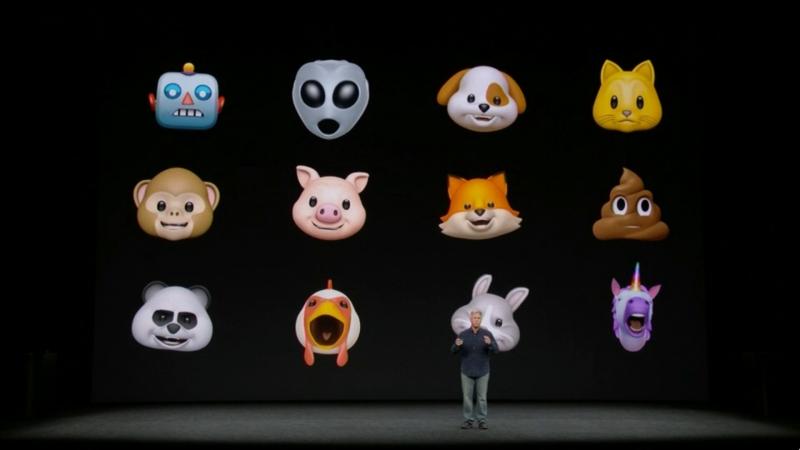 Tính năng Animoji được thử nghiệm trên iphone x