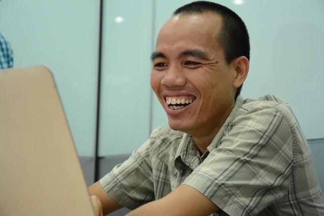 Anh Trần Mạnh Hiệp - admin của diễn đàn Tinh Tế.