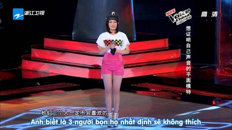 Không chỉ sở hữu ngoại hình xinh đẹp, đáng yêu, Đinh Đinh còn có một giọng hát cực kỳ trong trẻo