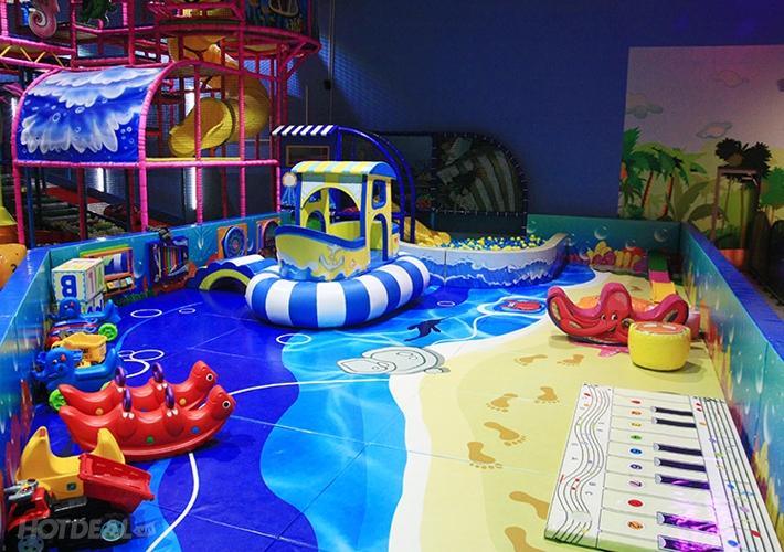 TiniWorld là khu trò chơi kết hợp giữa giáo dục và giải trí