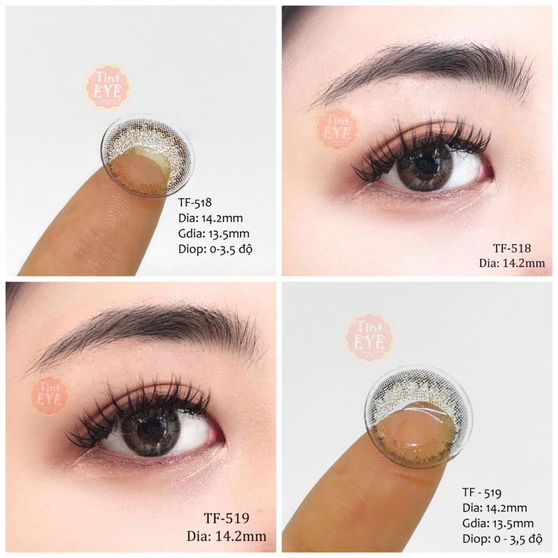9 loại kính áp tròng của Tint Eye Lens