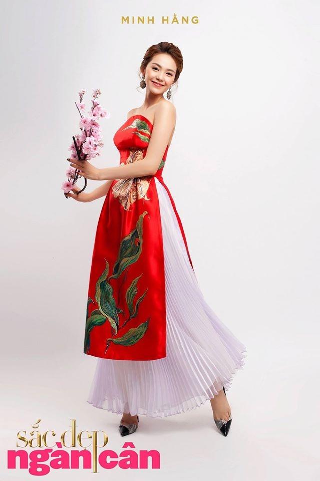 Nữ ca sĩ xinh đẹp Minh Hằng trong một thiết kế đặc biệt của Tiny Ink