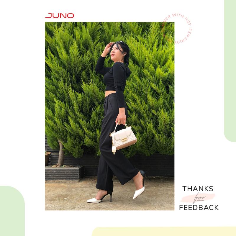 Juno luôn khiến khách hàng yên tâm về chất lượng sản phẩm của shop,