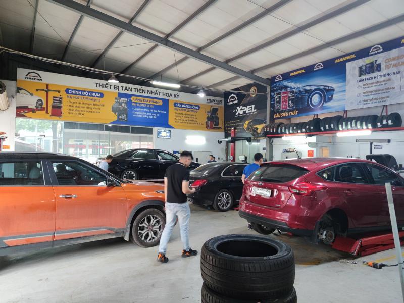 Tirefun - Trung tâm dịch vụ lốp của Otofun