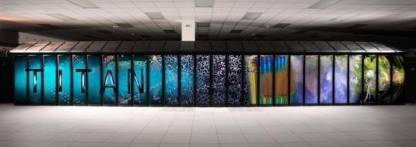 Hình ảnh bên trong khuôn viên chứa siêu máy tính Titan