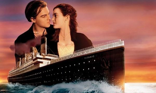 Poster phim Titanic.
