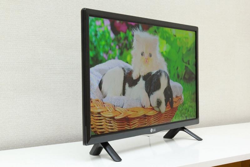 Tivi LG 24 inch 24LF450D cực phù hợp với những không gian đặt khiêm tốn