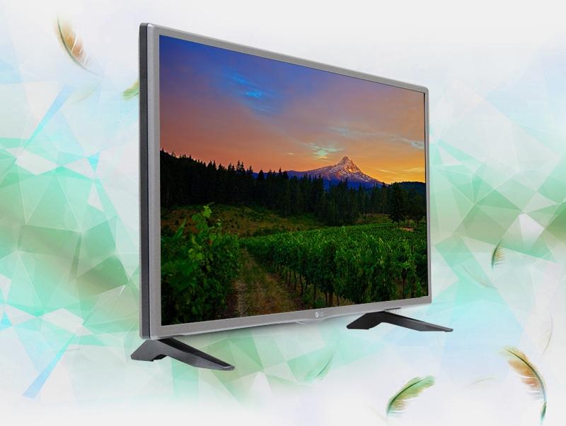 Tivi LG 32 inch 32LF510D sở hữu thiết kế gọn gàng với màn hình rộng vừa phải