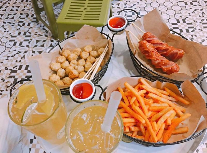 Đồ ăn vặt và đồ uống ngon - bổ - rẻ tại Tmore.