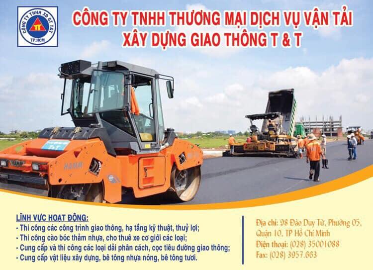 TNHH TM DV Xây Dựng Giao Thông T&T