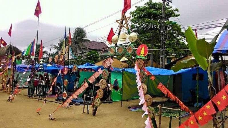 Hội trại là sân chơi bổ ích để đoàn viên giao lưu, thắt chặt tinh thần đoàn kết