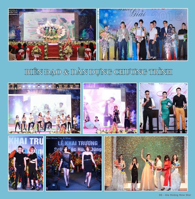 Tổ chức sự kiện Gia Hoàng New Star