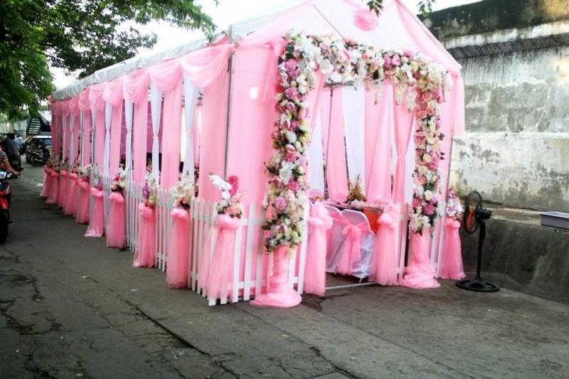 Nhà bạt đám cưới tại TỔ CHỨC SỰ KIỆN HUY NGUYÊN