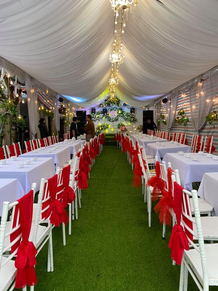 Không gian rạp cưới