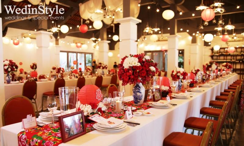 Tổ chức tiệc cưới Wedinstyle.