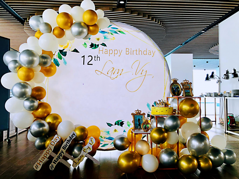 Tổ chức, trang trí sinh nhật Bear Mix