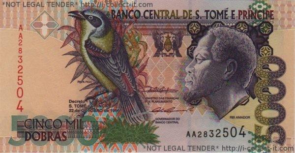 Tờ dobra của Sao Tome & Principe