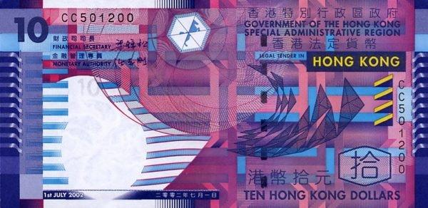 Tờ đôla của Hong Kong