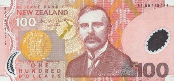 Tờ đôla của New Zealand